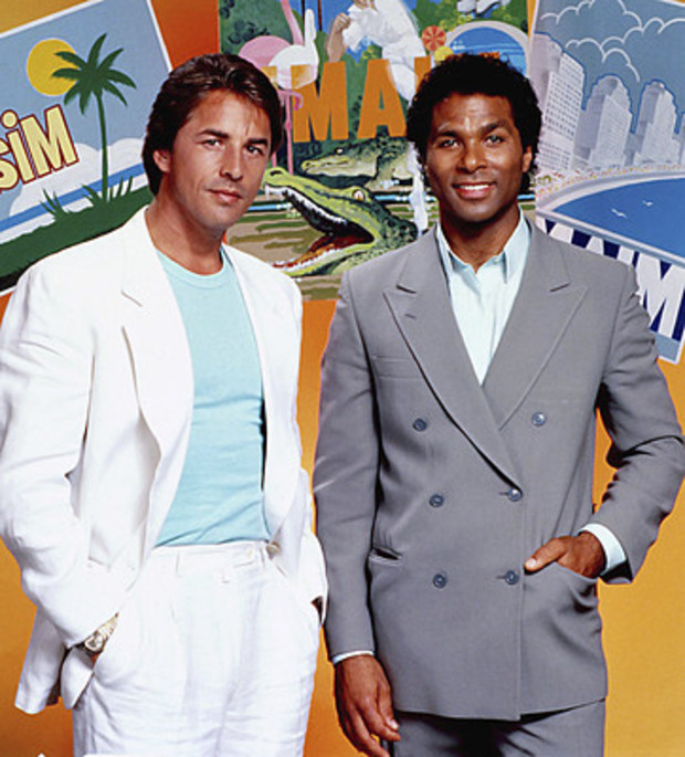 Don Johnson and..... that other guy.