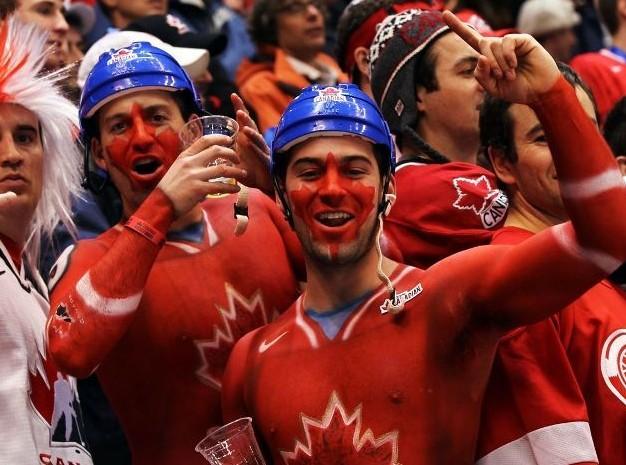 Random Canadian hockey fans.