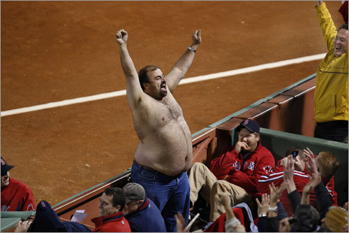 Random baseball fan.