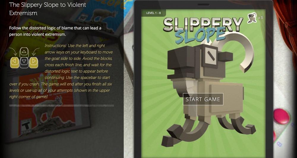 Slippery Slope Game